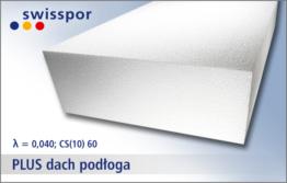 EPS 040 PLUS dach podłoga marki Swisspor - zamów w hurtowni styropianu Styroshop
