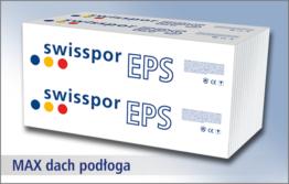 Swisspor EPS 80 MAX dach podłoga - biały styropian na posadzkę