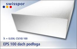 Swisspor EPS 100 dach podłoga - twardy styropian na podłogę