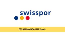 Swisspor LAMBDA MAX fasada, styropian grafitowy na ścianę