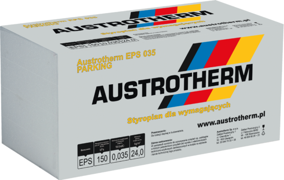 Austrotherm EPS 035 Parking. Styropian parkingowy