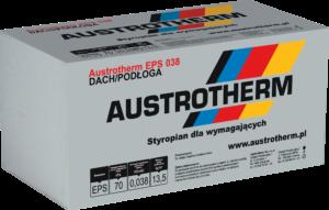 Austrotherm EPS 038 Dach Podłoga. Styropian na podłogę dach, lambda 0,038