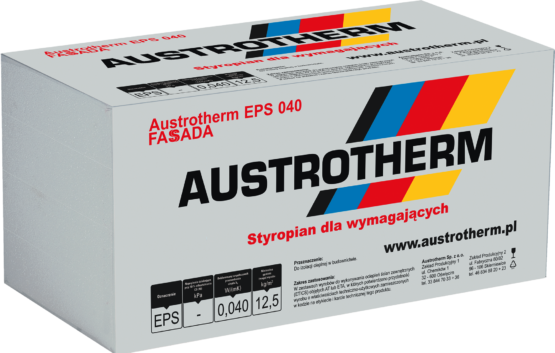 Austrotherm EPS 040 Fassada. Styropian elewacyjny