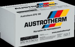 Austrotherm EPS 100. Styropian na dach podłogę, lambda 0,036