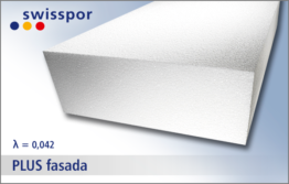 EPS 042 PLUS fasada firmy Swisspor - styropian do ocieplenia elewacji