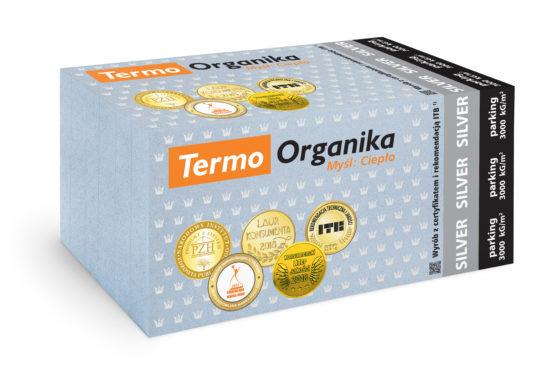 Termo Organika SILVER parking, styropian na parking