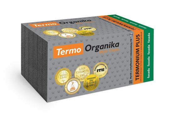 Termo Organika TERMONIUM PLUS fasada, grafitowy styropian fasadowy