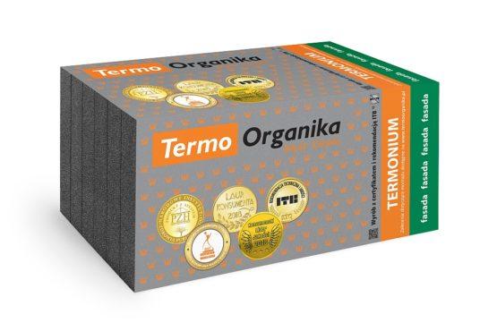 Termo Organika TERMONIUM fasada, styropian grafitowy na fasadę