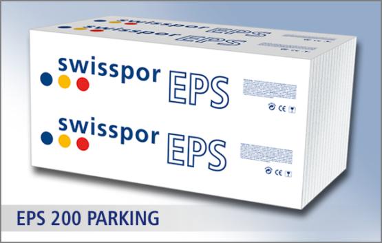 EPS 200 parking producenta Swisspor - bardzo twardy styropian biały do garażu i na parking