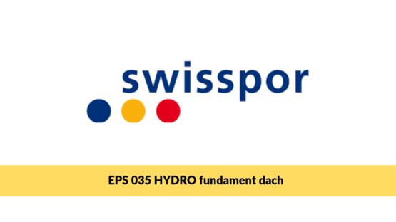 Swisspor HYDRO fundament dach, styropian fundamentowy
