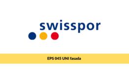 Swisspor EPS 045 UNI fasada, biały styropian na fasadę