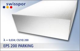 EPS 200 parking marki Swisspor - styropian z hurtowni styropianu Styroshop