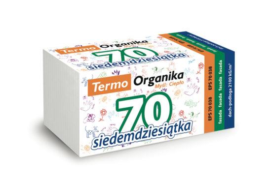 Termo Organika SIEDEMDZIESIĄTKA fasada/dach podłoga EPS 70 038