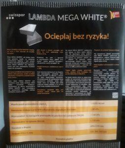 LAMBDA MEGA WHITE fasada - opis produktu