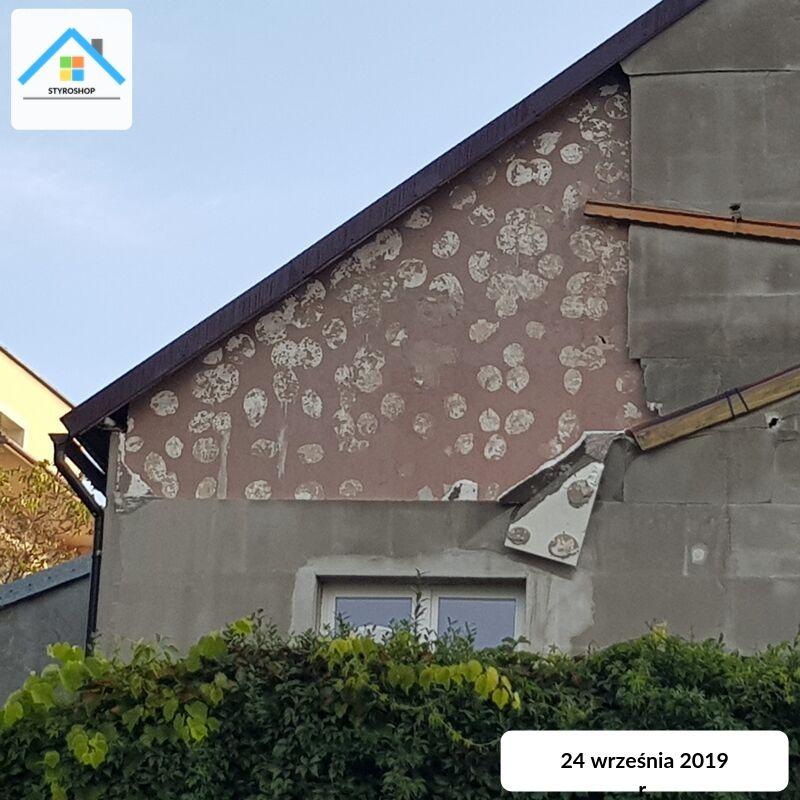 Niepoprawny montaż styropianu na przykładzie domu w woj. śląskim