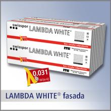 LAMBDA WHITE FASADA - lambda 0,031, TR 100, biała powłoka ochronna