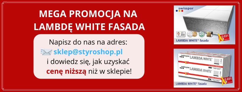 LAMBDA WHITE FASADA - promocyjna cena