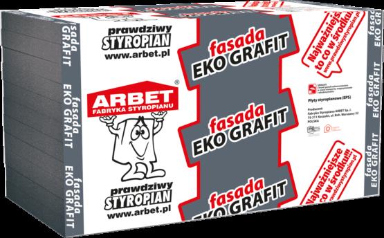 Arbet EPS 033 - Fasada Grafit Eko - styropian grafitowy na elewację